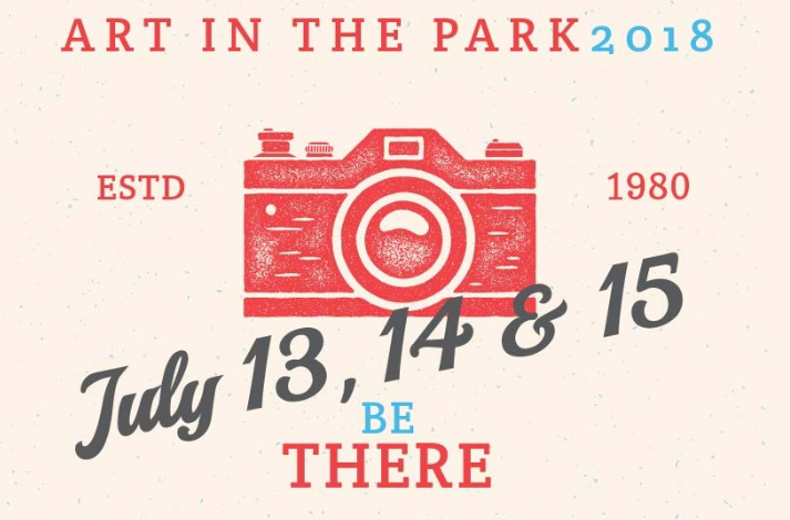 Art in the Park ad