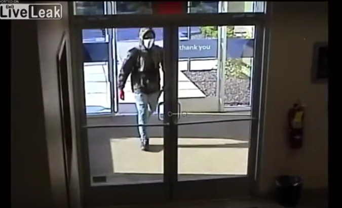 Livonia bank robbery